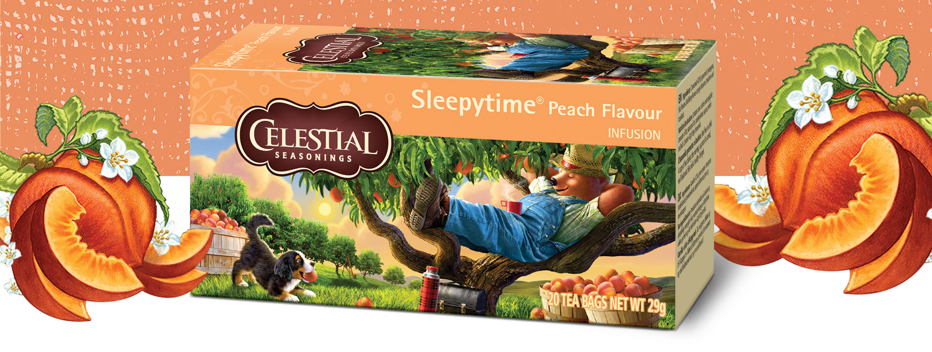 Celestial Seasonings Sleepytime Peach Tea